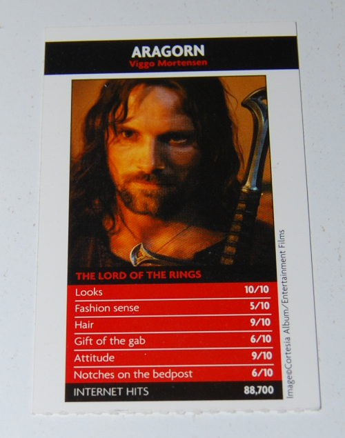 Lord of the rings anthology trading card game 4