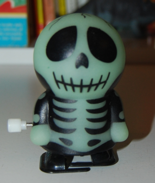 Glow windup skelly