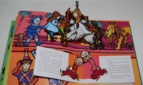 Wonderful wizard of oz popup book 13