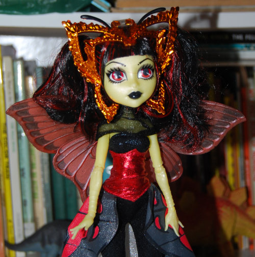 Monster high butterfly doll x