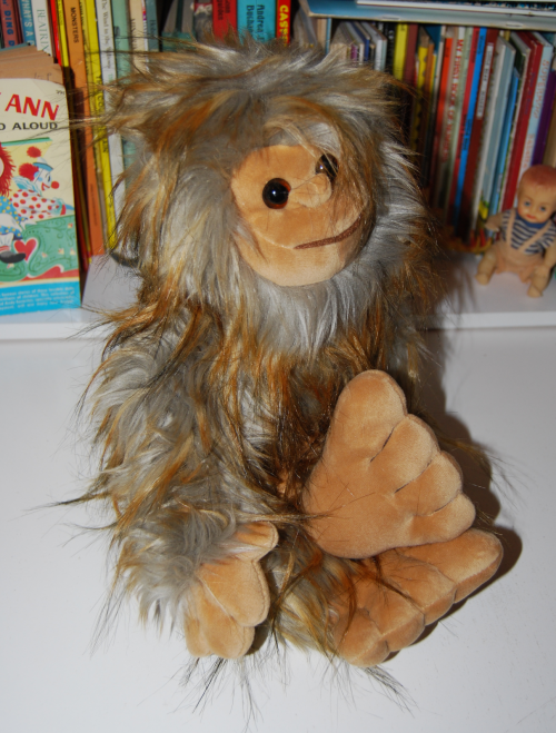 Bigfoot plush toy x