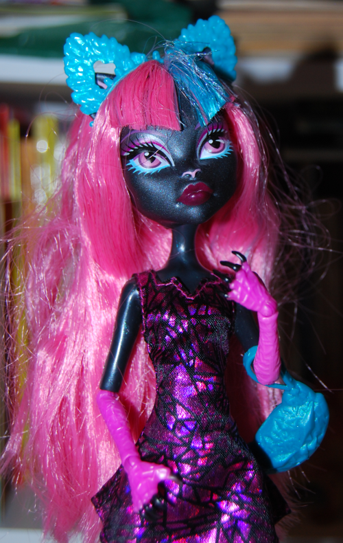 Monster high cat doll x