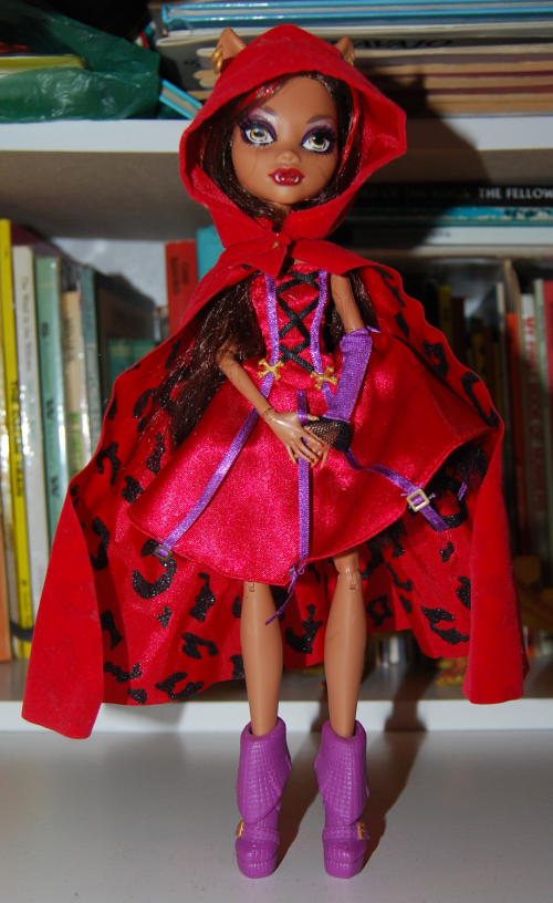 Monster high little red riding hood doll
