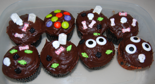 Dan's birthday cupcakes