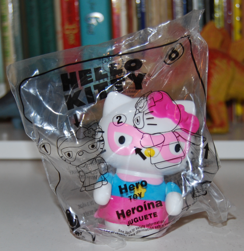 Happy meal hello kitty prize