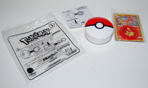 Pokemon happy meal x