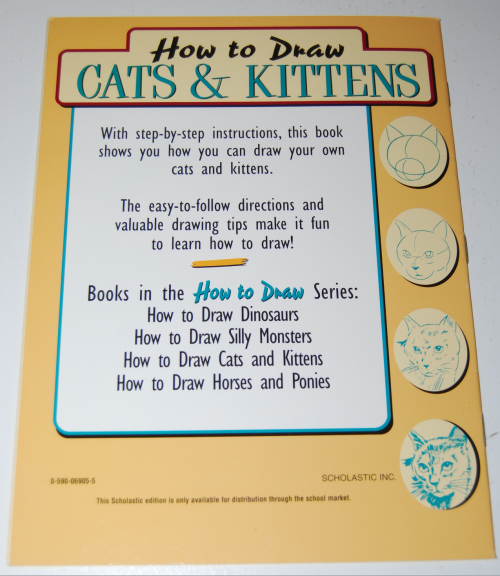 How to draw cats & kittens scholastic book x