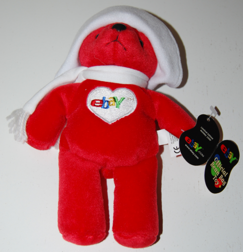 Ebay official bean bag toy bear