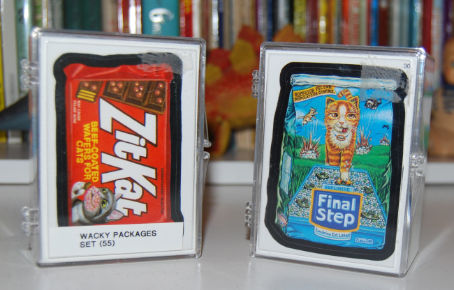 retro collector cards