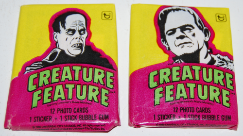 Creature feature cards