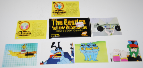 Beatles yellow submarine cards