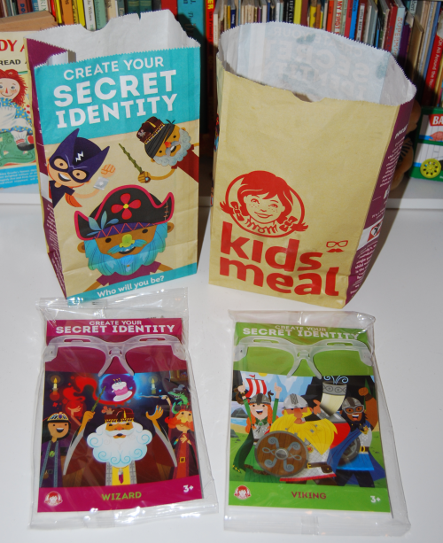 Wendy's kids meal secret identity