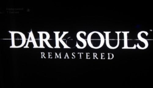 Dark souls platinum