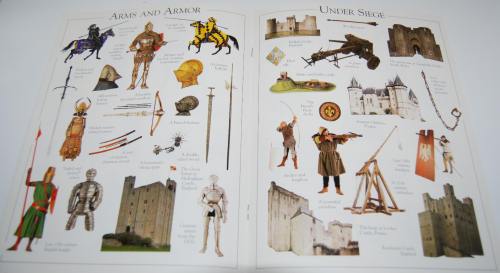 Castle & knight sticker book 4