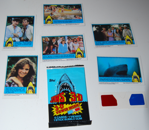 Jaws 3d cards x