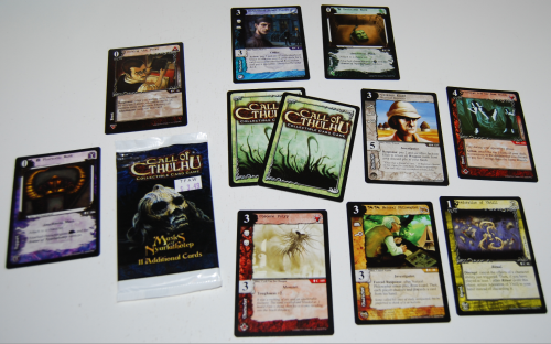 Call of cthulhu cards