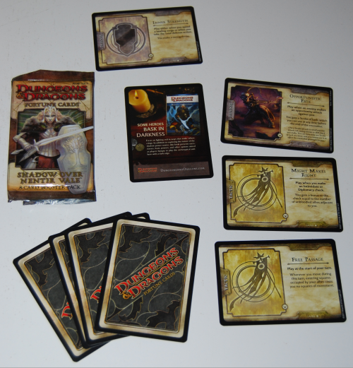 Dungeons & dragons cards