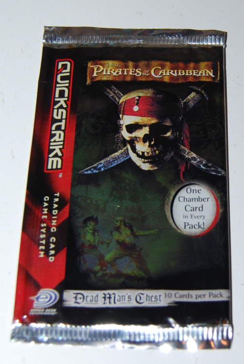 Pirates of the caribbean cards