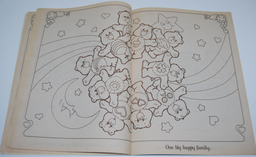 Care bears family coloring book x
