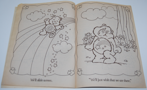Care bears funtime coloring book x