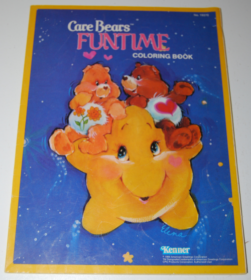 Care bears funtime coloring book