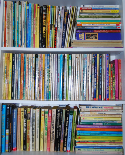 Bookshelf titles