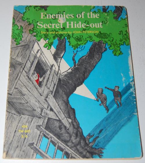 Enemies of the secret hideout scholastic book