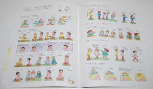 Scholastic book feelings 9