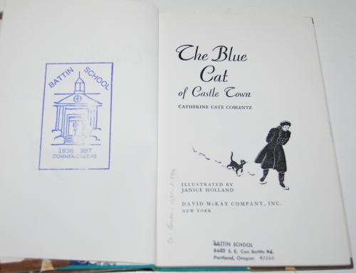 The blue cat of castle town 3