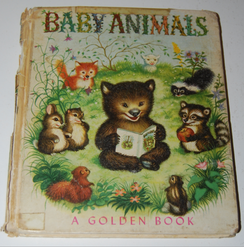 Little golden book baby animals 1952
