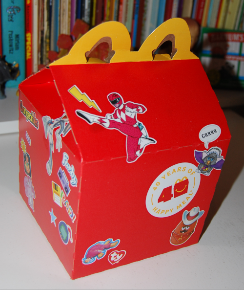 Surprise happy meal 2