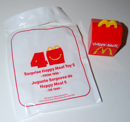 Surprise happy meal 6