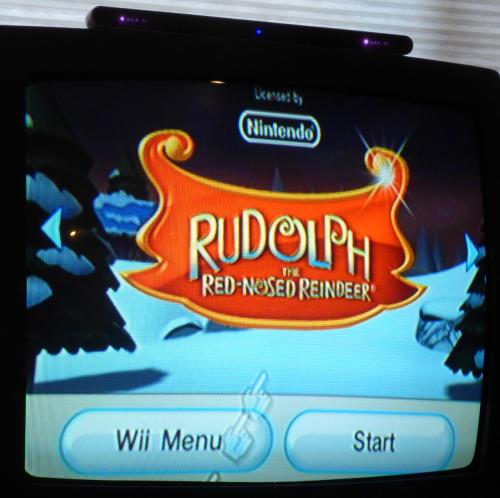 Wii rudolph 1