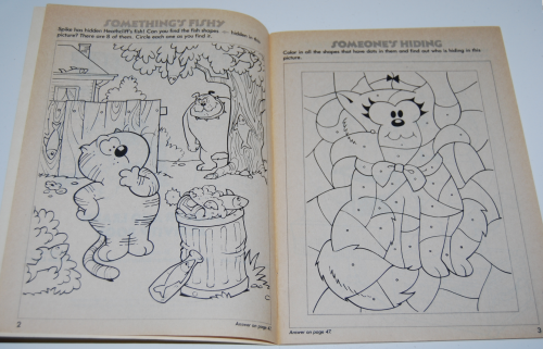 Heathcliff coloring book 2