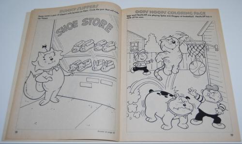 Heathcliff coloring book 5