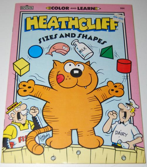 Heathcliff coloring book