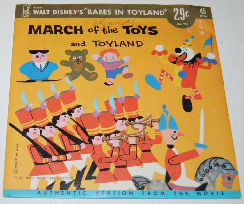 Disney toyland record