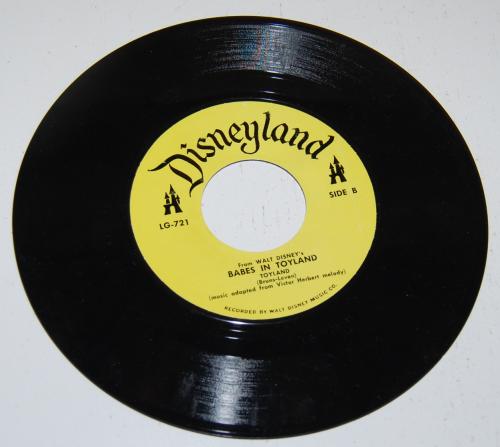 Disney toyland record 1