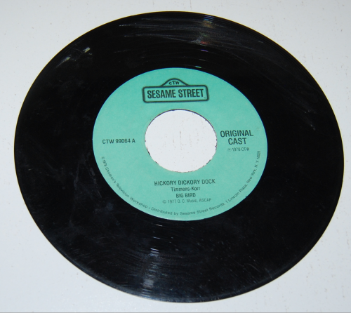 Sesame street record x