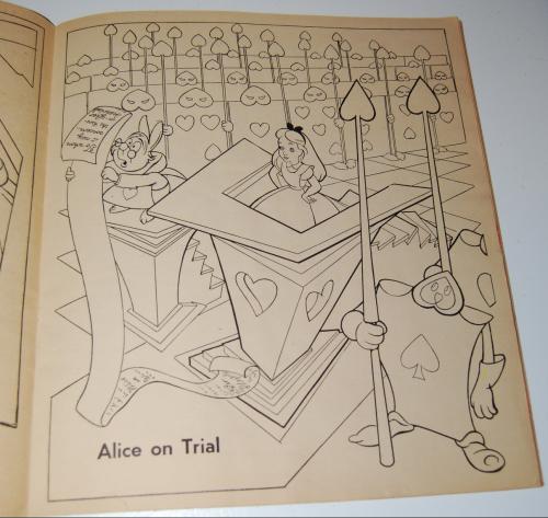 Alice in wonderland sticker fun book 3