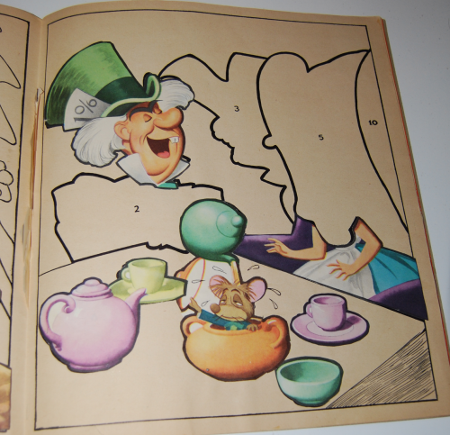Alice in wonderland sticker fun book 5