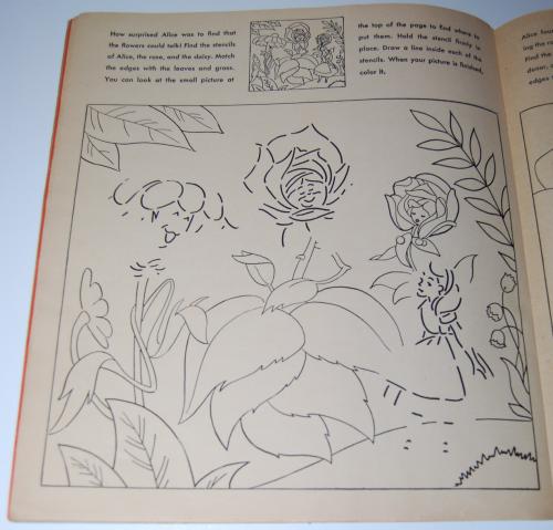 Alice in wonderland sticker fun book 7