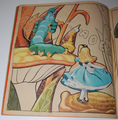 Alice in wonderland sticker fun book 4