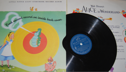 Alice in wonderland rca victor book 1