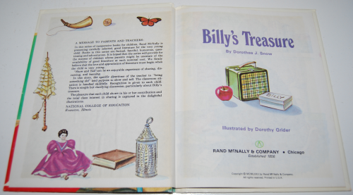 Billy's treasure 1