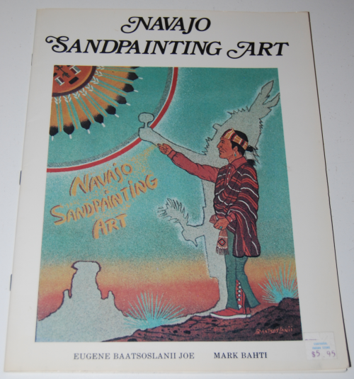 Navajo sandpainting art book