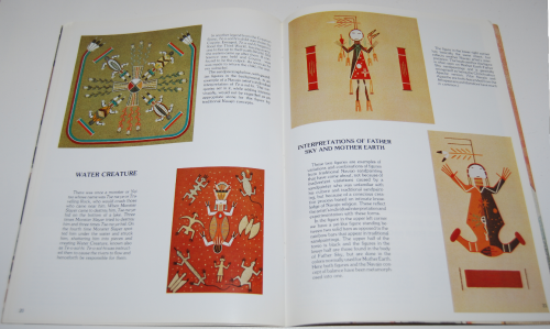 Navajo sandpainting art book 7