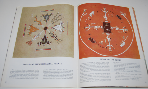 Navajo sandpainting art book 8