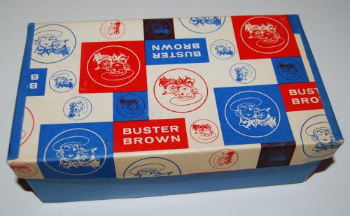 Buster brown shoebox