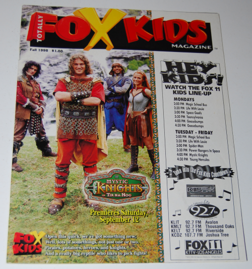 Fox kids magazine